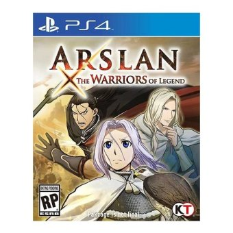 Arslan: The Warrior Legend R3 Game for PS4