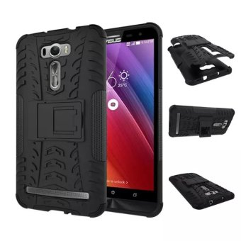 Asus zenfone2/ze601kl drop-resistant with support mobile phone protective shell back cover