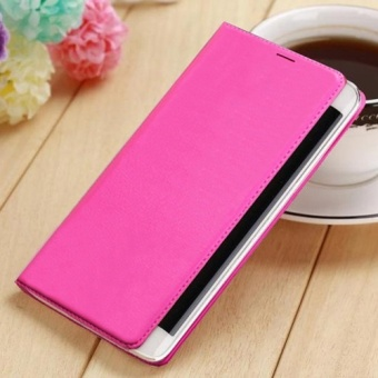 Asuwish Flip Cover Leather Case For Samsung Galaxy Note Edge N9150 N915 N915F Slim Original Phone