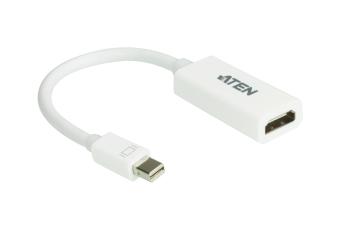 Aten VC980 Mini DisplayPort to HDMI Adapter (White)