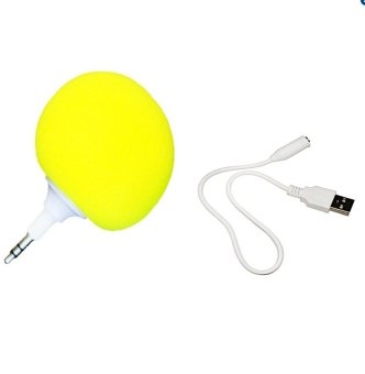 Audio Jack Speaker (Yellow)