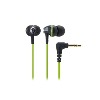 Audio Technica ATH-CK313M In-Ear Headphone (Black/Green)