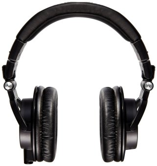 Audio-Technica ATH-M50x Professional Studio Monitor Headphones (Black)