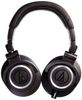Audio-Technica ATH-M50x Professional Studio Monitor Headphones(Black) - 3
