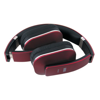 August EP650 Bluetooth Wireless Stereo Headphone Earphone with Microphone and NFC (Red) - Intl - 2