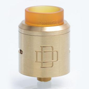 Augvape Druga RDA Rebuildable Dripping Atomizer for ElectronicCigarette - 304 Stainless Steel, 24mm Diameter