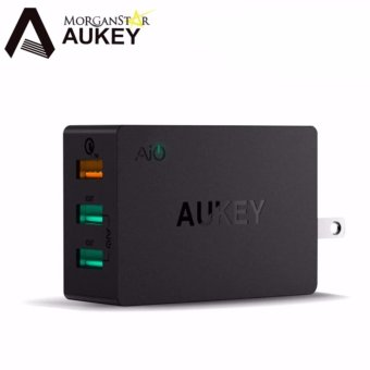Aukey PA-T14 3-Port 42W Wall Charger with Qualcomm Quick Charge 3.0