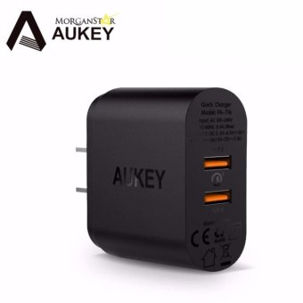 Aukey PA-T16 Powerall Quick Charge 3.0 Dual Port USB Wall Charger