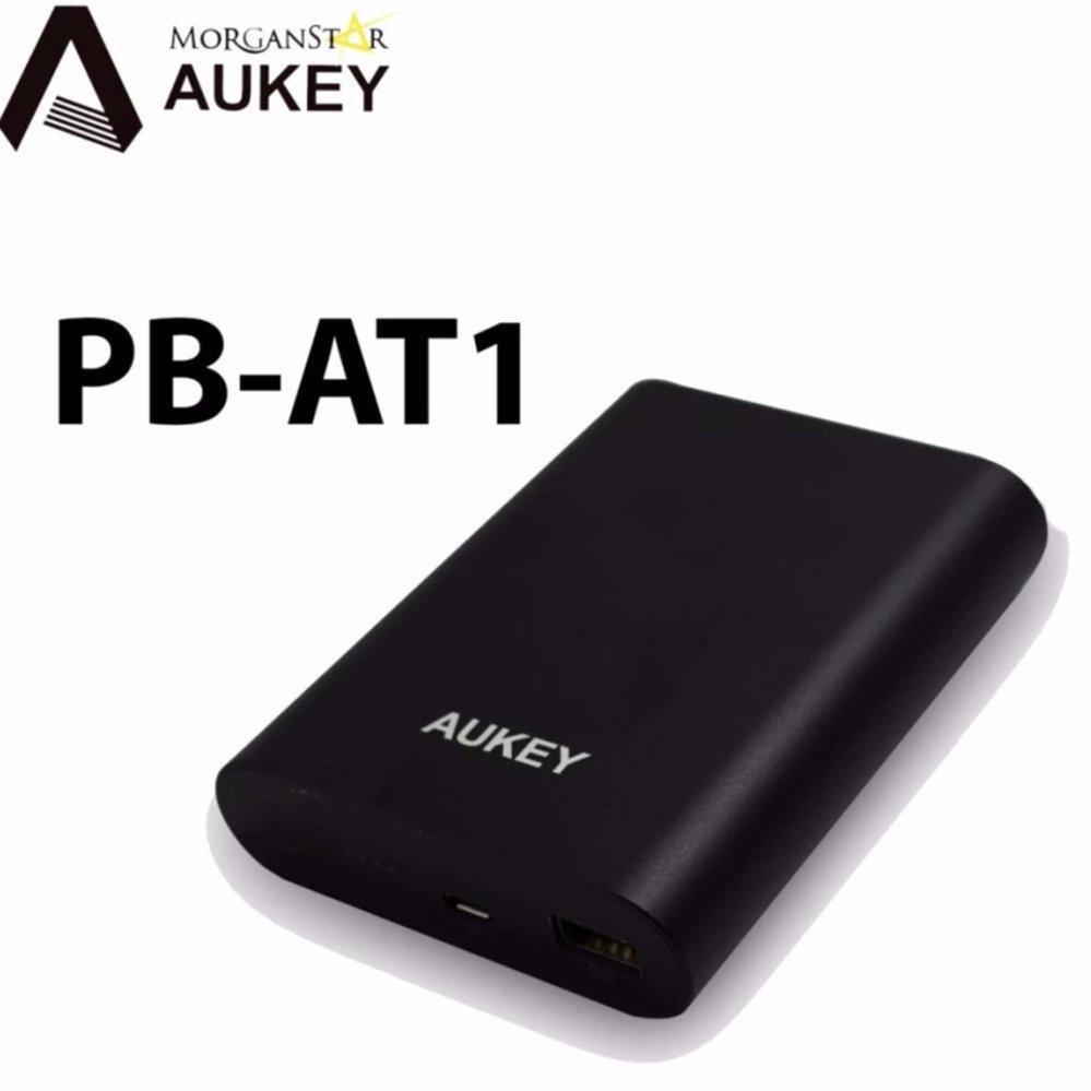 Philippines Aukey Pb At1 10400mah Power Bank With Quick Charge 30 Tronsmart Presto 1 Port Usb Type C Qualcomm Pbt12 Black