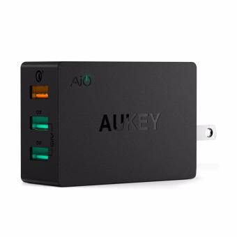 Aukey Qualcomm Quick Charge 3.0 3-Port USB Wall Charger (PA-T14)
