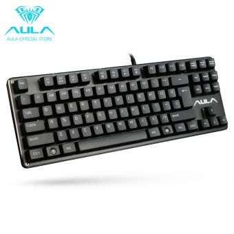 AULA OFFICIAL F2012 Mechanical Gaming Keyboard USB Wired Keyboard(Black)