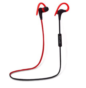 Avantree Sacool Pro In Ear Bluetooth Stereo Headset With Microphone(Black/Red) - 2