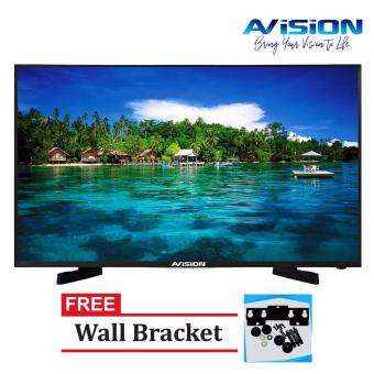"Avision 43"" Digital LED HD TV Black 43K786D with Free Wall Bracket"