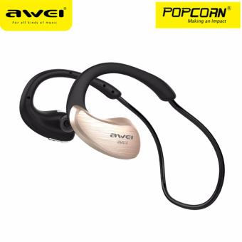 Awei A885BL Waterproof Wireless Bluetooth V4.1 Sport Stereo Headset Headphone with Mic