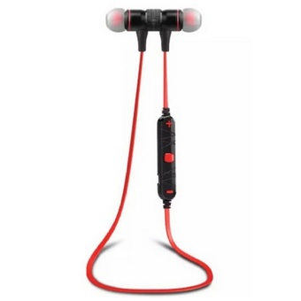 Awei A920bl Explosive Bass with Magnetic Lock In-Ear Bluetooth V4.0 Headset (Red/Black)