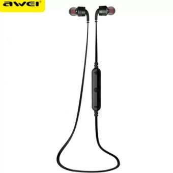 AWEI A960BL Noice Cancelling Bluetooth In-Ear Headphone Earphone with Mic