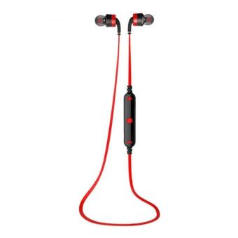 AWEI A960BL Noice Cancelling Bluetooth In-Ear Headphone Earphone with Mic - (Red) Price Philippines