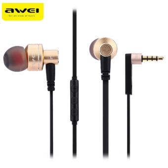 Awei ES-10TY 3.5MM Super Bass Noise Isolation In-ear Earphones