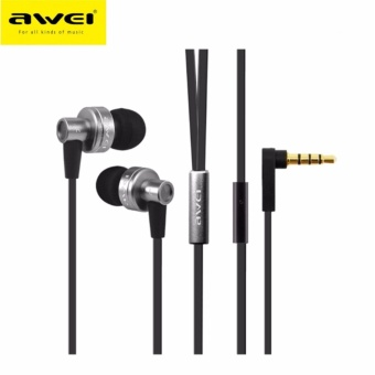Awei ES - 900i Noise Isolation In-ear Earphone with 1.2m Cable Mic