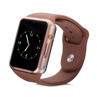 B08 Bluetooth Smart Watch Phone with Camera (Gold)