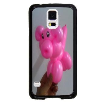 Balloon Pattern Phone Case for Samsung Galaxy S5 (Black)