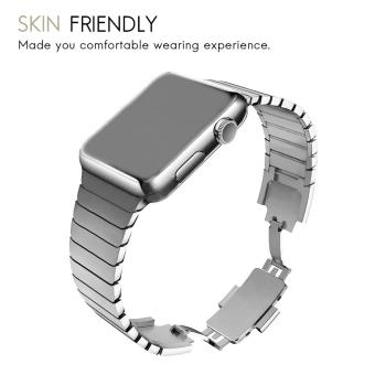 Band for Apple Watch Series 3 Series 1 Series 2 42mm Stainless Steel Strap - 5