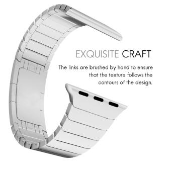 Band for Apple Watch Series 3 Series 1 Series 2 42mm Stainless Steel Strap - 2