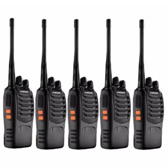 BaoFeng-888S VHF UHF FM Transceiver Walkie Talkie Two-Way Radio set of 5