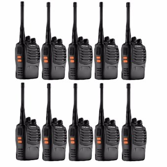 BaoFeng BF-888S VHF UHF FM Transceiver Walkie Talkie Two-Way Radio set of 10