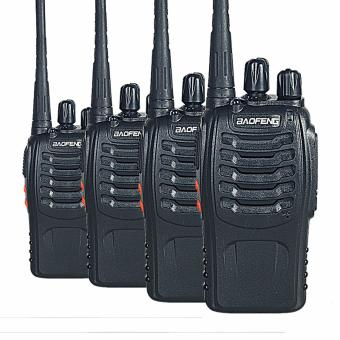 Baofeng BF-888S Walkie Talkie Portable CB Radio 16CH 5W UHF400-470MHz Handheld Two-way Radio ( SET OF 4 )