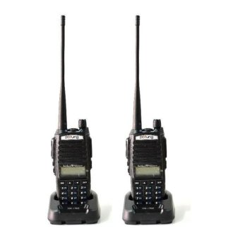 Baofeng / Pofung UV-82 Dual Band / Dual PTT Launch Key Two-Way Radio Set of 2 Price Philippines