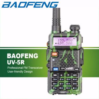 Baofeng UV-5R VHF/UHF Dual Band Two-Way Radio UV5R (Green)