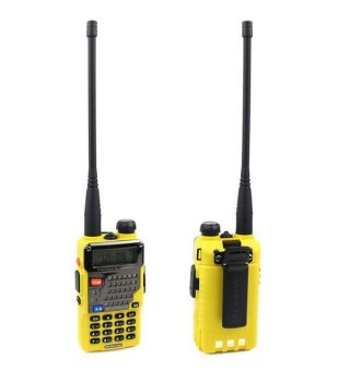 Baofeng UV-5RE Dual Band Two Way Radio (Yellow)
