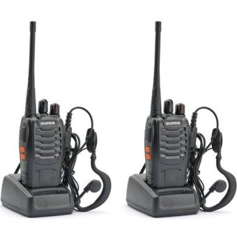 Baofeng/Pofung BF-888s UHF Transceiver Two-Way Radio with Earpiece Set of 2