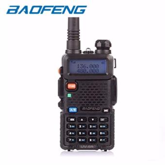 Baofeng/Pofung UV5R VHF/UHF Dual Band Two-Way Radio (Black)