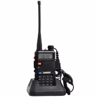 Baofeng/Pofung Walkie Talkie Dual Band Radio(Black) UV-5R
