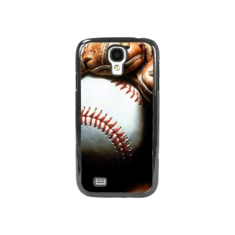 Baseball Pattern Phone Case for Samsung Galaxy S4 (Multicolor)