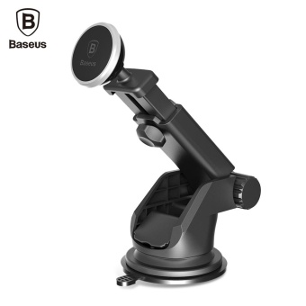 Baseus Solid Series Telescopic Magnetic Suction Bracket Car Mount Phone Holder - intl