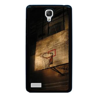 Basketball Sport Pattern Phone Case for Xiaomi Redmi Note (Black)