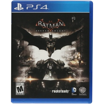 BATMAN ARKHAM KNIGHT PS4 GAME R3,R1 MINT CONDITION