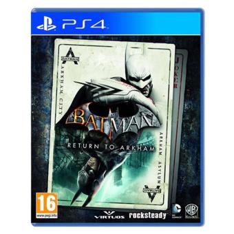 BATMAN RETURN TO ARKHAM PS4 GAME R3,R1 MINT CONDITION