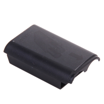 Battery Back Cover Pack Replacement for Xbox 360 Set of 2 - Black