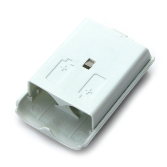 Battery Cover Case for Xbox 360 Wireless Controller White - picture 2