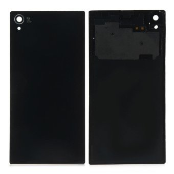 Battery Door Back Cover Case Replacement With Nfc Adhesive For Sony Xperia Z1 L39H C6902 C6903(Black) - intl