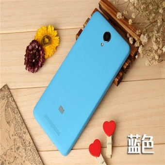 Battery Protective Back Cover Case For Xiao Mi Red mi Note 2 (Blue) - intl