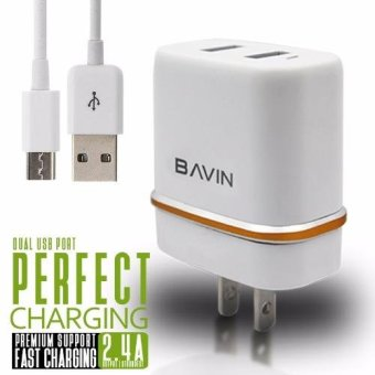 Bavin 2.4A Dual-Port Charger Price Philippines