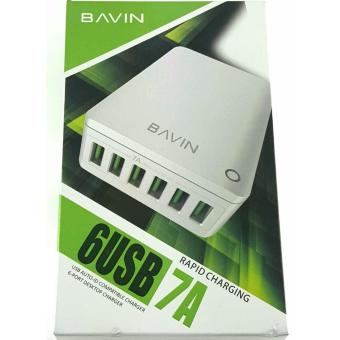 Bavin 7A 6 USB Port Fast Charger