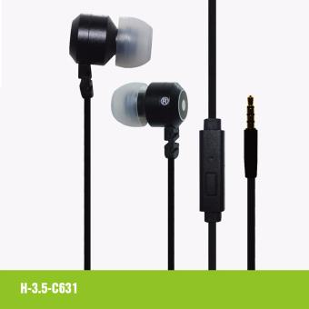 Bavin C631 High Quality Bass Earphones (Black)