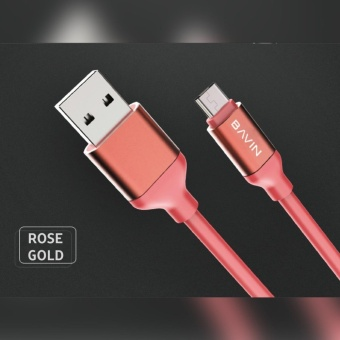 Bavin CA269 USB Data Cable - 2meters (Rose Gold)
