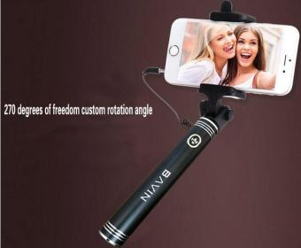 Bavin H520 Extendable Selfie Stick Monopad For IOS and AndroidSmartphones (Black)